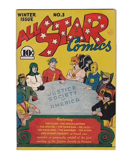 Comic Book Restoration - All Star comics AFTER