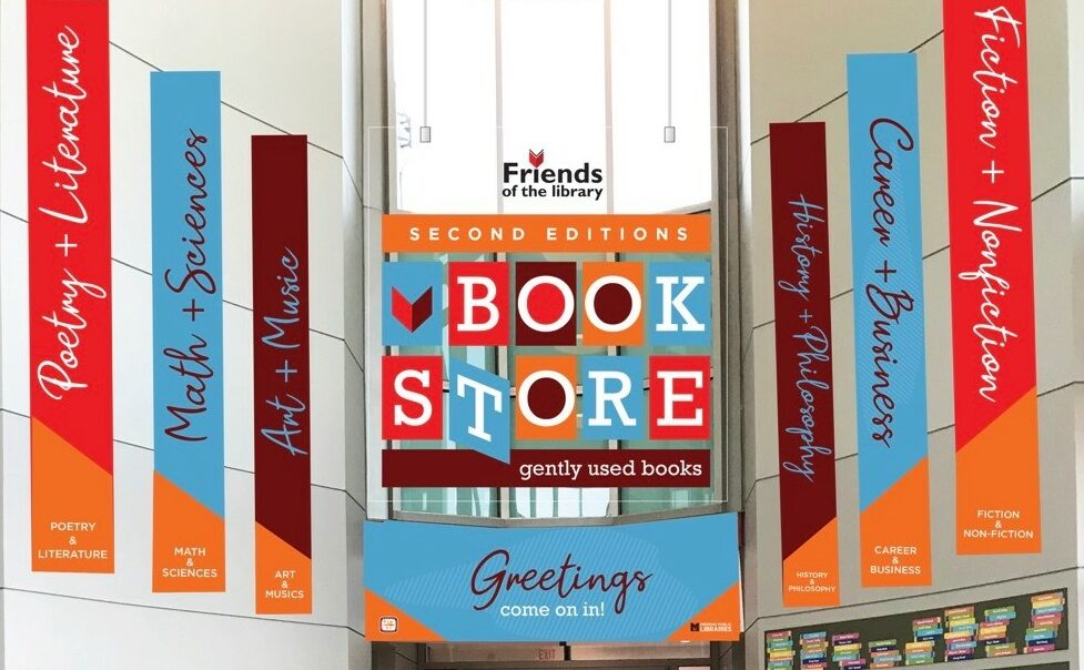 New Second Editions Storefront Photo