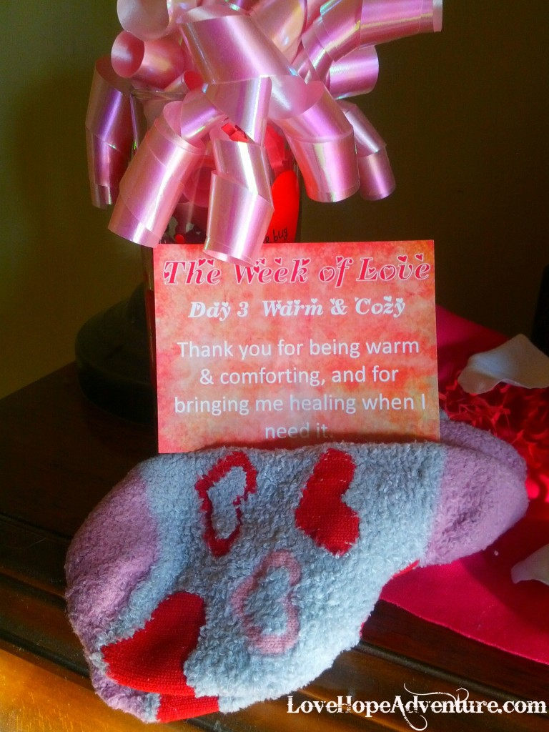 Day 3 week of love valentines day gift
