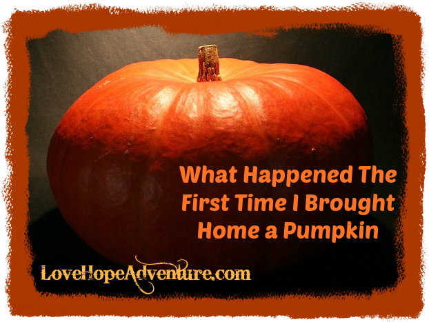 what happened the first time a brought a pumpkin home