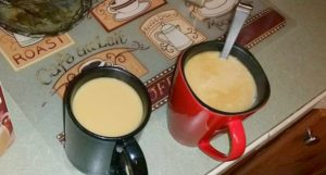 Share coffee with your spouse