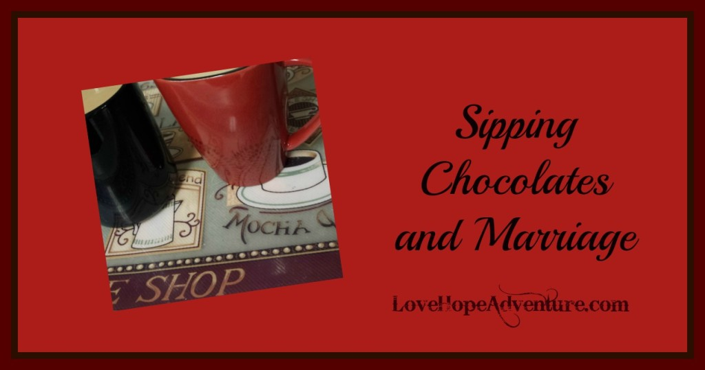 sipping chocolates and marriage