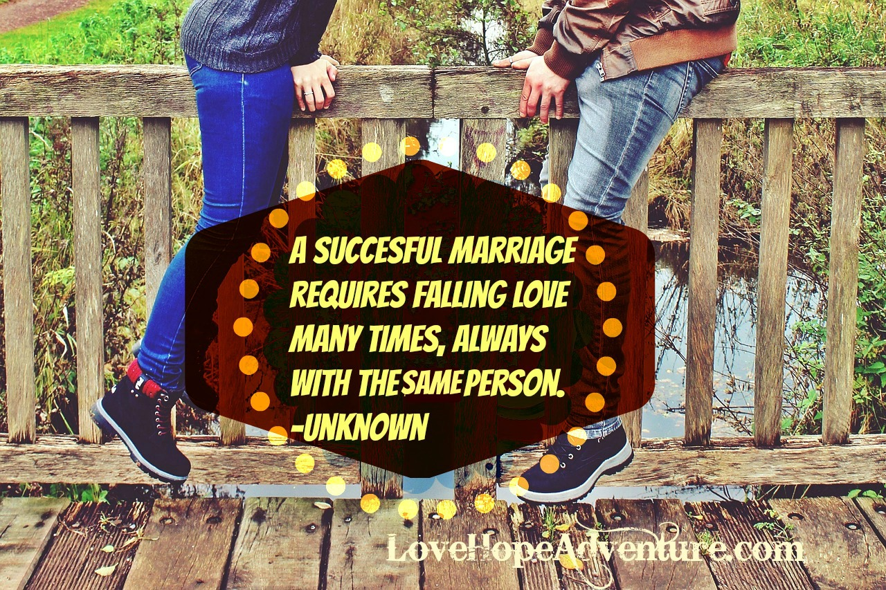 A Succesful Marriage Requires Falling Love Over and Over With the Same Person2