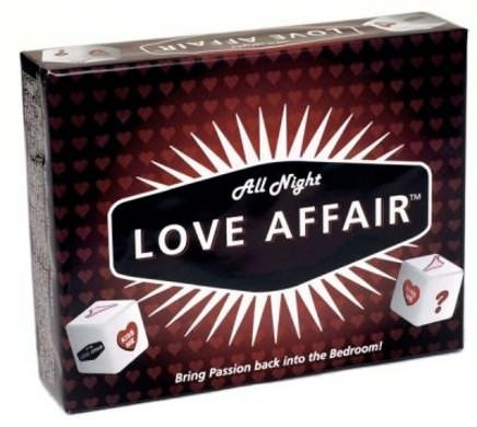 All Night Love Affair Couples Bedroom Game