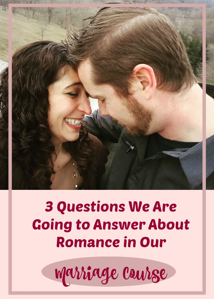 In our Marriage Checkup Course, we are dedicating an entire section to romance. When you sign up for the course, you will receive a workbook and access to 5 days of video coaching.