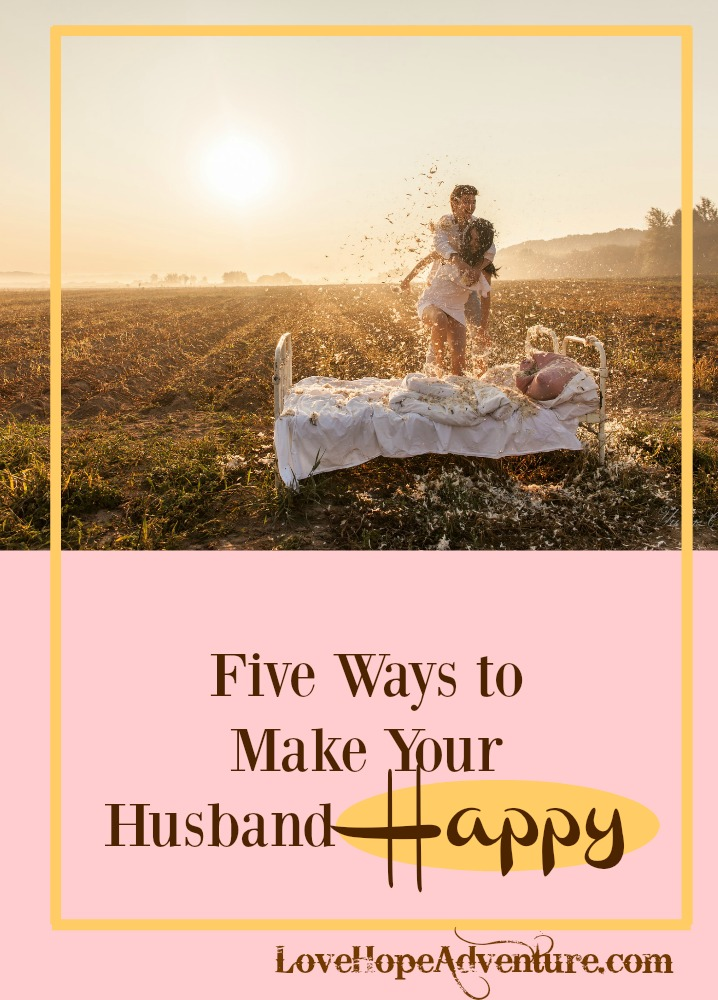 Let's get real for a moment; marriage can be tough. There are good days and bad days, but the good days over shine the bad days by a mile. One of the great things about being in a committed relationship or marriage is being able to make each other smile.