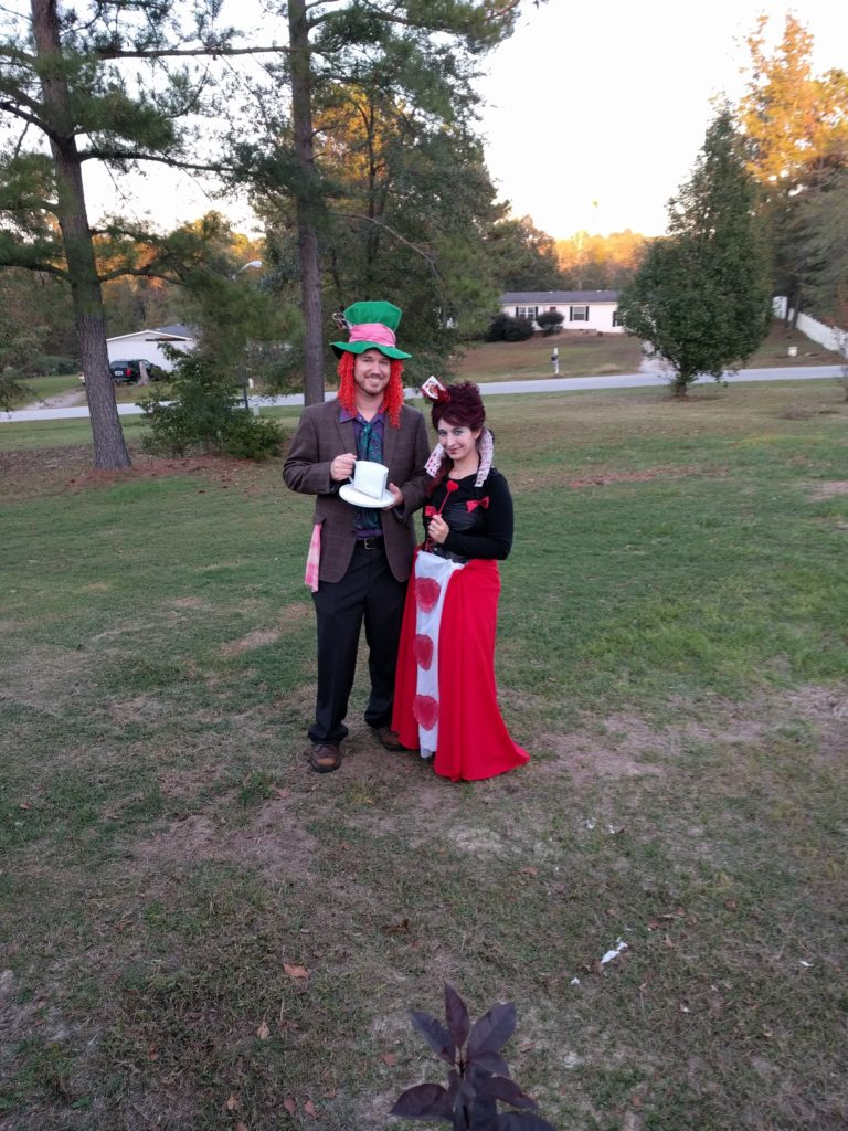 Mad hatter and queen of hearts costume ideas
