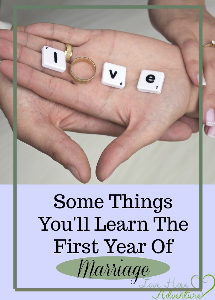 My husband and I dated for a little over five years. Once we got married I didn't realize just how much different marriage would be. My now husband and I was very familiar with each other, but we still learned some new things about each other that first year.