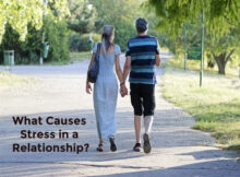 What causes stress in a relationship?