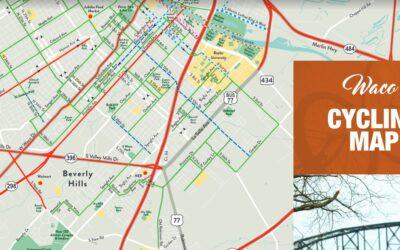 Waco Cycling Map