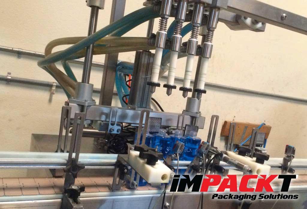 impact packaging fill machine