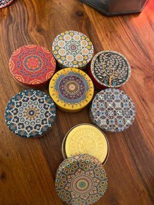 Cajitas geometría sagrada