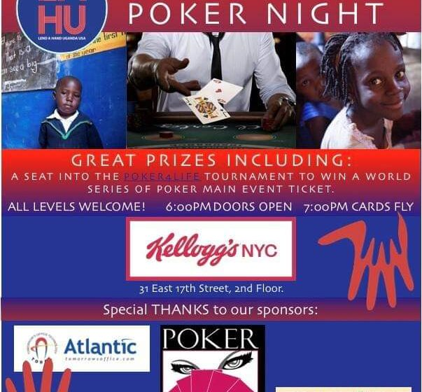 The 5th Annual LAHU-USA Poker Event