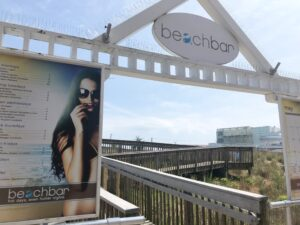 Bally's Beach Bar entrance