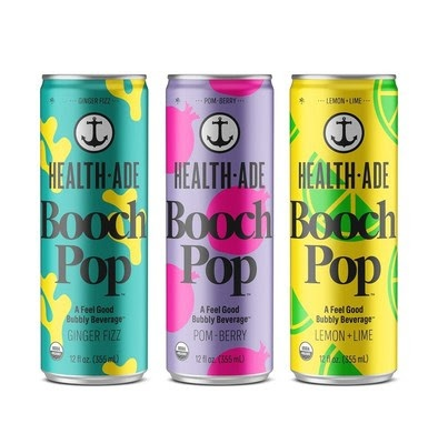 Health-Ade Takes on Soda and Introduces 'Health-Ade Booch Pop' Line Just in Time for Summer