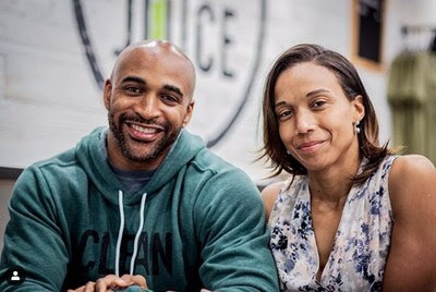 Former New York Giants wide receiver David Tyree and his wife, Leilah