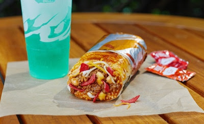 Grilled Cheese Burrito