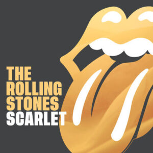 """The Rolling Stones """"Scarlet"""" single cover"""
