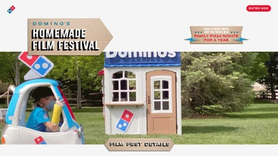 Domino's Homemade Film Festival contest