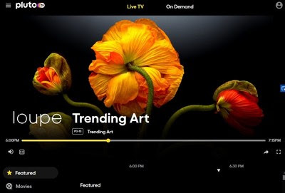 Loupe and Pluto TV Launch Non-traditional Channel That Pairs Art & Music