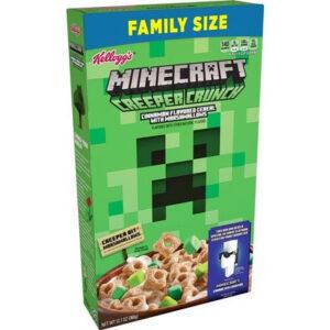 Kellogg's Minecraft Creeper Crunch Cereal