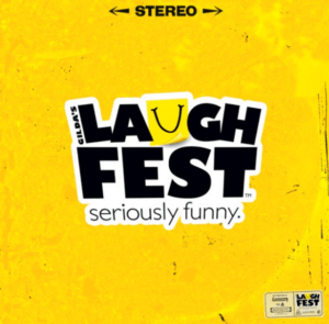 gildas laughfest: seriously funny cover art
