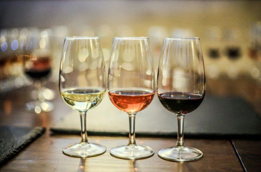 glasses of wine