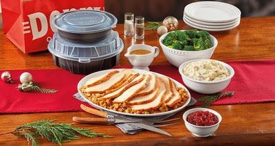 Denny's Turkey & Dressing Dinner Pack