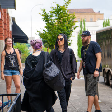 Miyavi Portland BTS