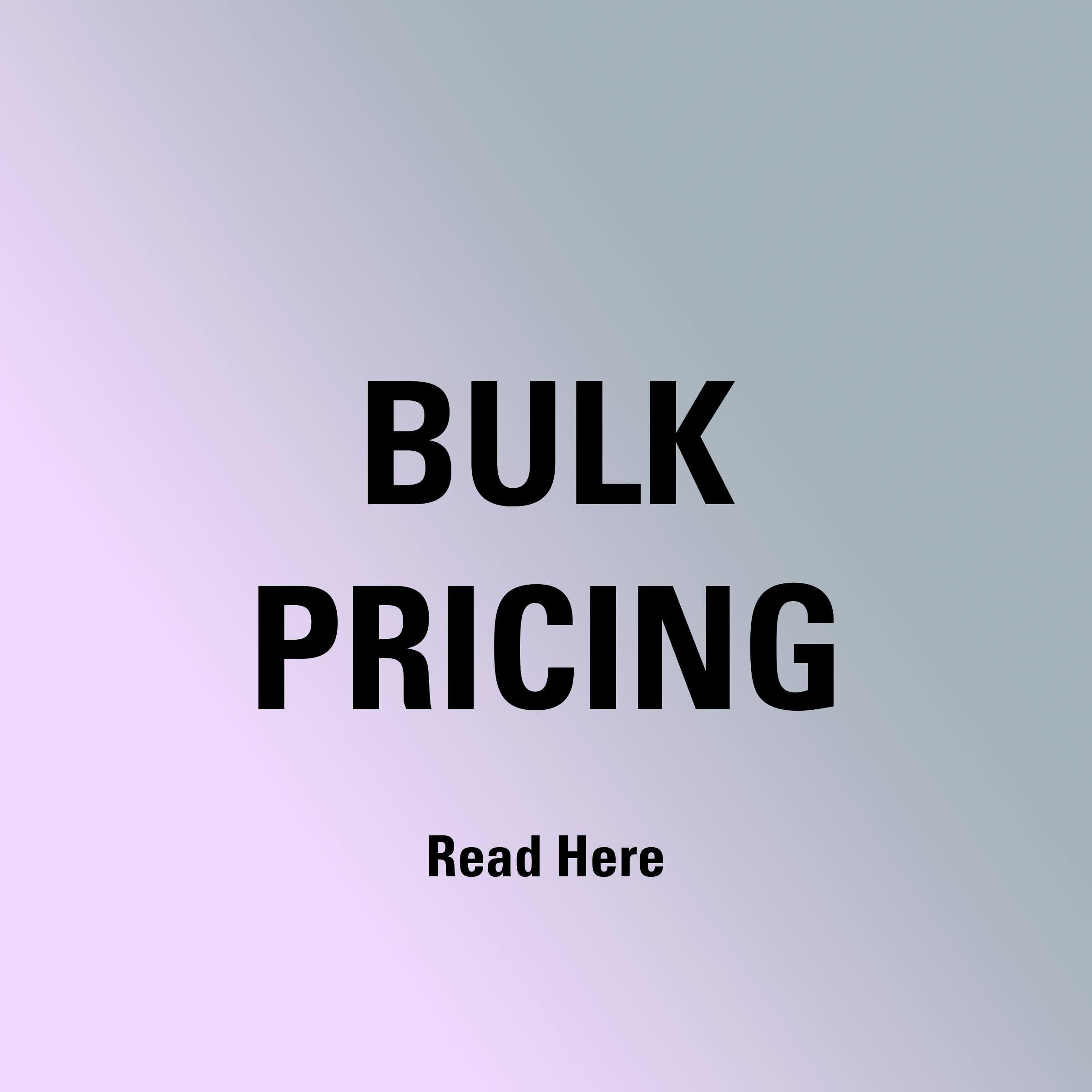 Bulk Pricing icon on Pedometer.com