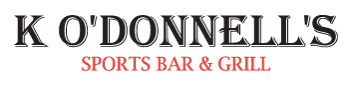 K O'Donnell's Sports Bar & Grill - Full Logo