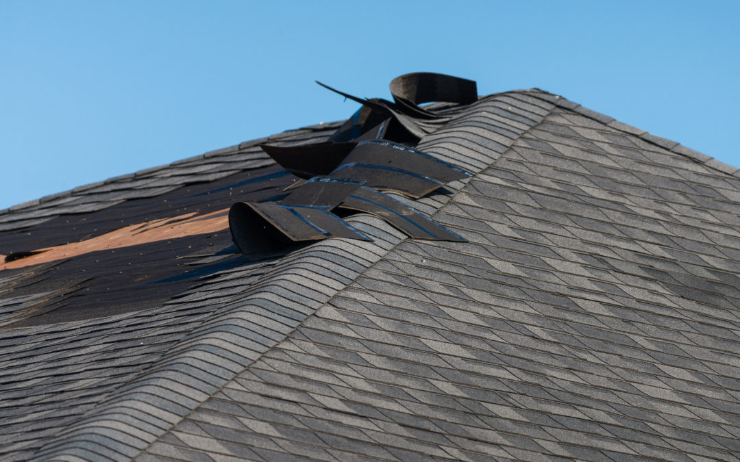 4 Big Signs That Wind Damaged Your Roof