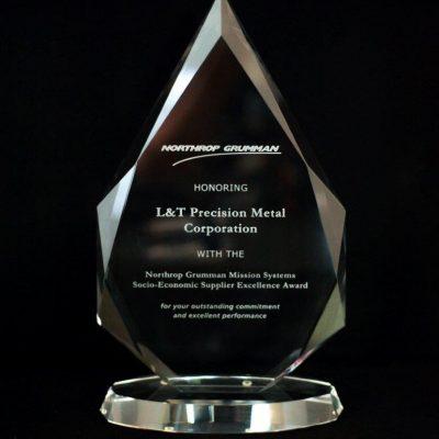 Northrop Grumman's Socio-Economic Supplier Excellence Award to L&T Precision