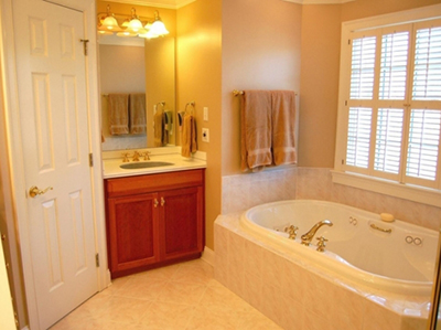 BEFORE: Charlottesville Master Bath