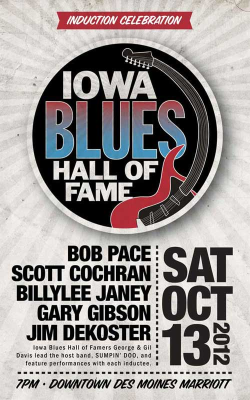 Iowa Blues Hall of Fame - Induction