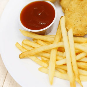Chicken Tender and Fries
