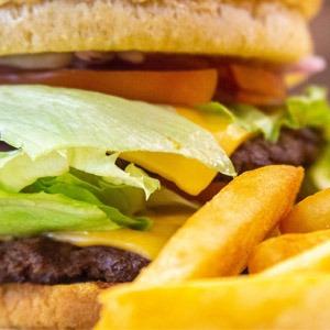 Double Decker Cheeseburger