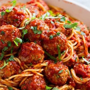 Spaghetti Meatballs