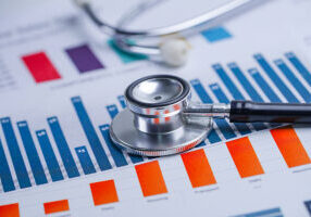 Stethoscope, Charts And Graphs Spreadsheet Paper, Finance, Accou