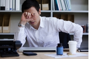 Bad corporate practice in San Jose led the man to have a headache