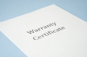 Warranty certificate in San Jose
