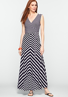 This is the dress! On a slimmer, more attractive model, but still. Cute, right?