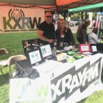 Booth KXRW Joe susan