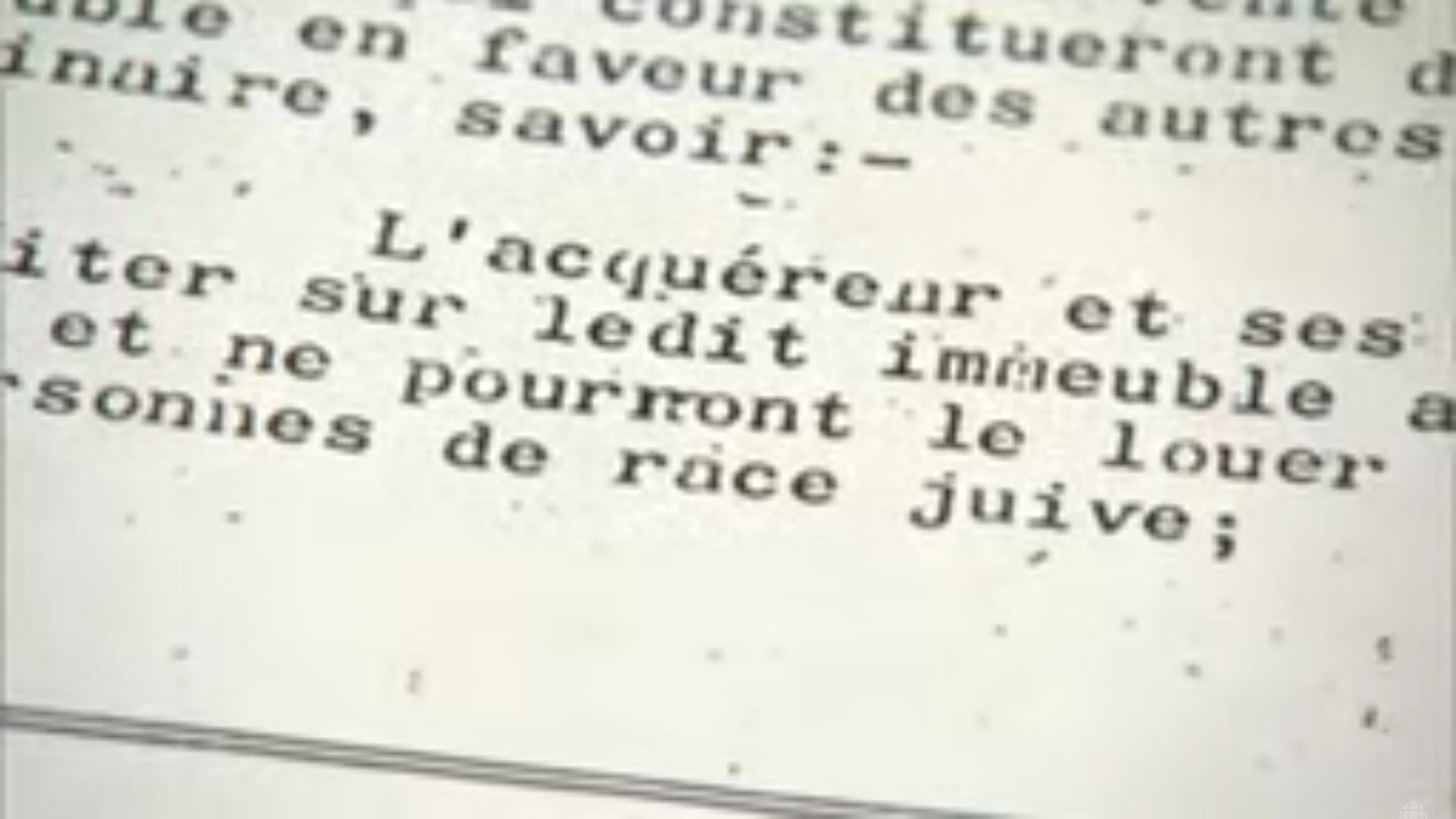Quebec community split over street named after anti-Semitic landowner