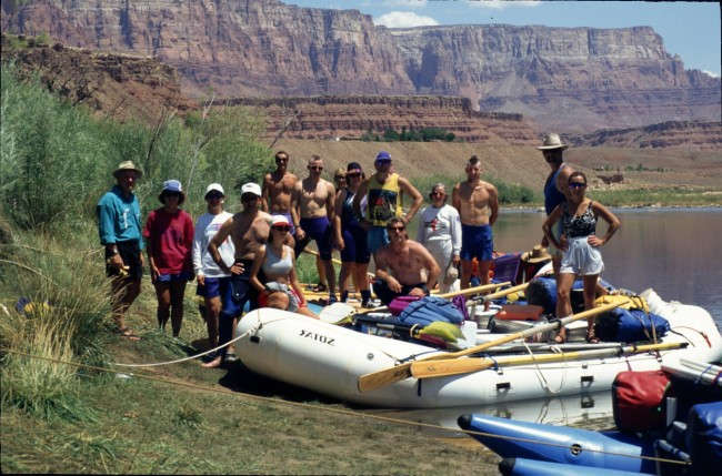 Grand Canyon 1994 group