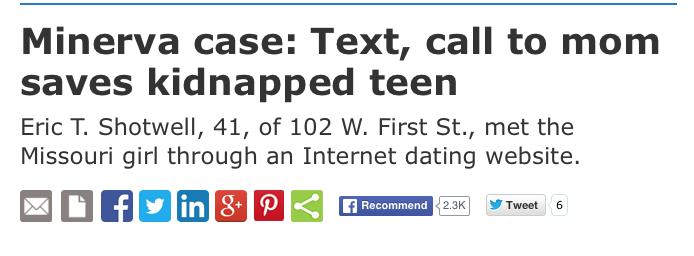 Former stepson makes headlines