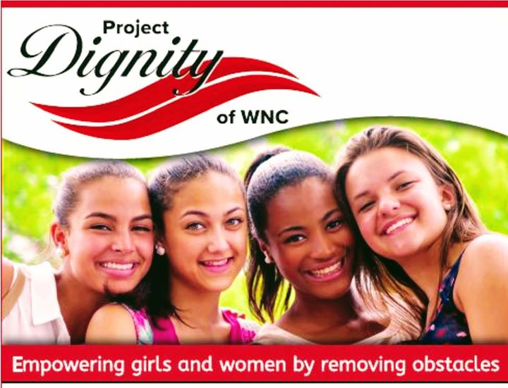 10% of purchases go to Project Dignity of WNC