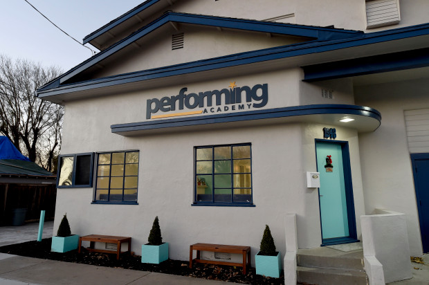 The Performing Academy in Pleasant Hill, Calif., photographed on Wednesday, Dec. 21, 2017. The building, a former fire station, was owned for many decades by Diablo Theater Company and before that it was known as Diablo Light Opera. The new owners are proud add this facility to their Lamorinda Theater Academy group. (Dan Honda/Bay Area News Group)
