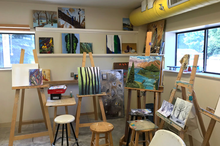 pentwater artisan center paintings