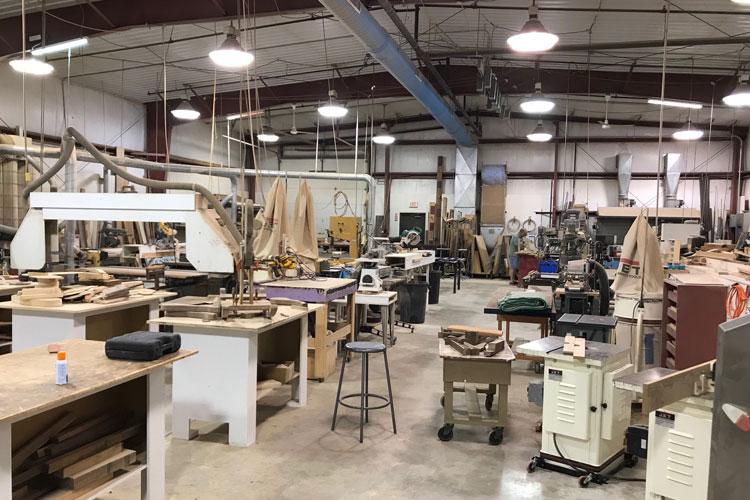 pentwater artisan center woodworking room